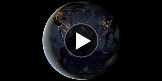 nasa space station video green halo waste tracking system
