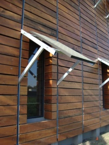 solar panel awning