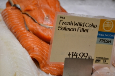 waste tracking wastetracking system whole foods seafood gmo salmon