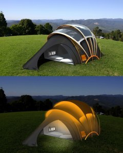 whimsical solar panel idea